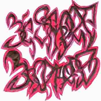 В разделах как нарисовать граффити